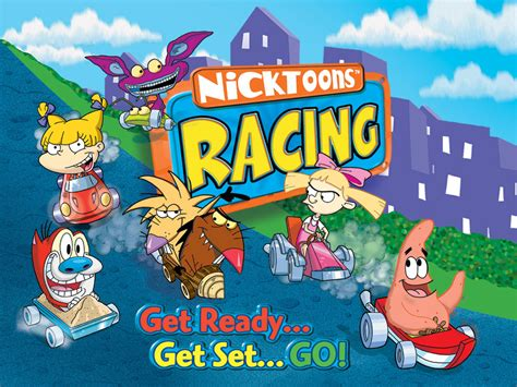 Environmentally Friendly Houses by Nicktoons Racing Gba