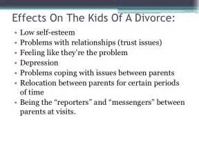Effects Of Divorce On Children Essay by Divorce Power Point