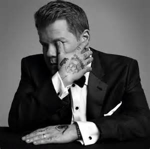 james corden tattoos corden rocks tattoos for wsj cover shoot