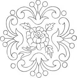 vintage floral embroidery pattern the graphics fairy