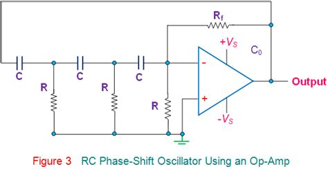 transistor lifier phase shift rc phase shift oscillator electrical4u