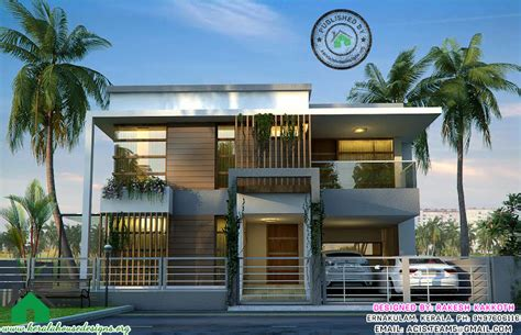 Contemporary Style Kerala Home Design 2015 Home Plans With Elevation