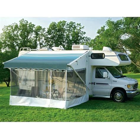rv shade awning tent awning screens and custom made diy awning screen kits