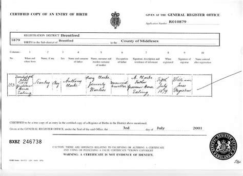 Birth Records Australia Australian Birth Certificate
