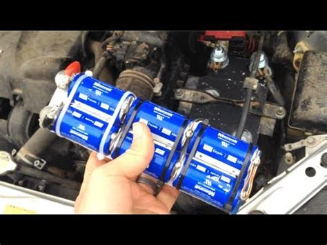 capacitor battery truck replace your car battery with capacitors 12v boostpack update free energy news