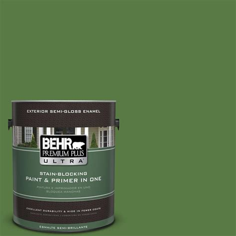 behr paint colors green exterior behr premium plus ultra 1 gal s h 430 mossy green semi