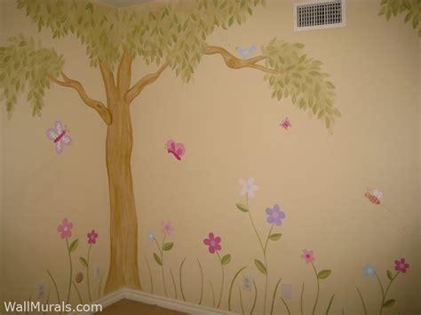girls room wall murals examples  wall murals