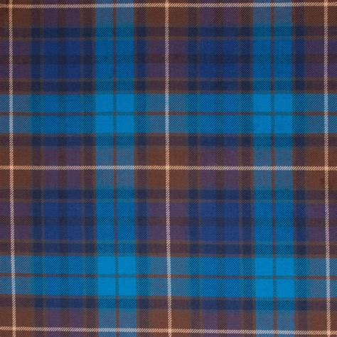 what is tartan buchanan blue light weight tartan fabric lochcarron of