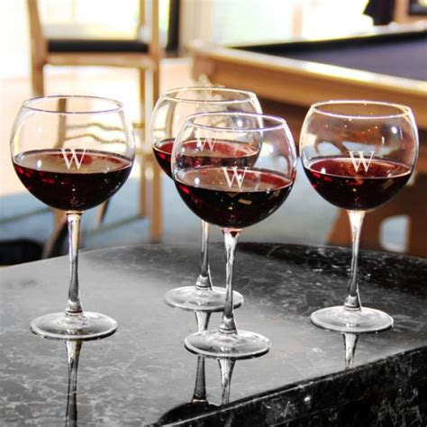 personalized barware gifts personalized wine glasses gift set