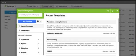 Yesware Email Templates 12 Exles Of A Follow Up Email Template To Steal Right Now Yesware Blog