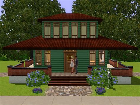 frank lloyd wright prairie home mod the sims frank lloyd wright prairie style home