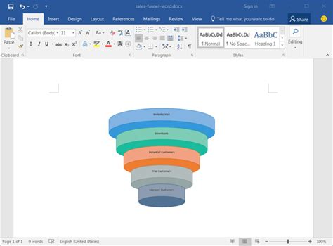 sales funnel template sales funnel templates for excel word and powerpoint
