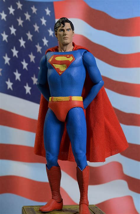 christopher reeve as superman review and photos of neca christopher reeve superman
