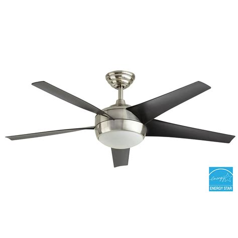 windward ii ceiling fan home decorators collection windward iv 52 in brushed