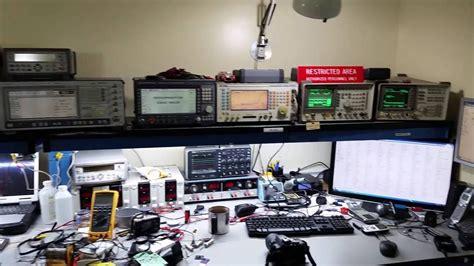 electronics workbench rf lab nab youtube