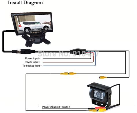 car rear view wiring diagram efcaviation