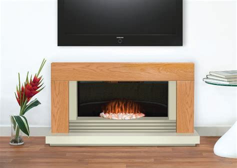 Electric Fireplace Suites Freestanding by Adam Fireplace Suite In Oak 48 Inch Fireplace World