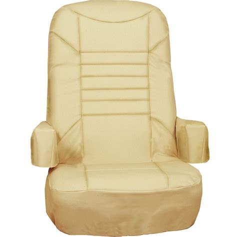 captain chair seat covers captain s chair covers 2 pack rv designer c781