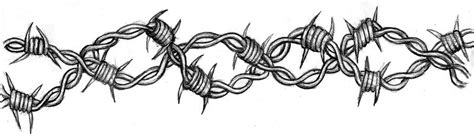 vire tattoos barbed wire tatoo by yunaanimakira on deviantart