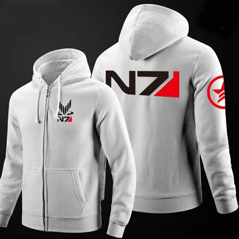 Hoodie Zipper Rpg Mass Effect N7 4 n7 hoodie reviews shopping n7 hoodie reviews on aliexpress alibaba