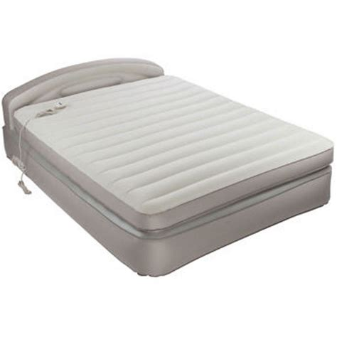 aerobed headboard com aerobed opti comfort queen air mattress with