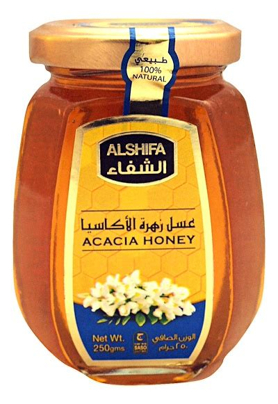 Al Shifa Acacia Honey 125gr qoo10 honey al shifa acacia honey 250g 100 and