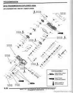 2011 2012 polaris ranger 400 500 efo crew 500 efi utv service manual 9923511 ebay