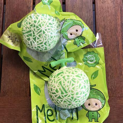 Jumbo Melon Squishy By Punimaru chawaseng jumbo melon squishy scented licensed squishies squeeze toys