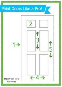 best way to paint interior doors the best way to paint an interior door my step by step