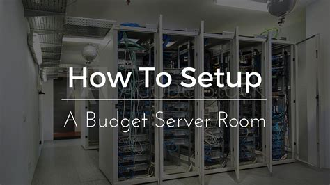how to design a server room most effective ways to overcome how to design a server