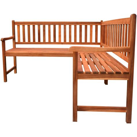 corner bench garden vidaxl co uk vidaxl garden corner bench acacia wood
