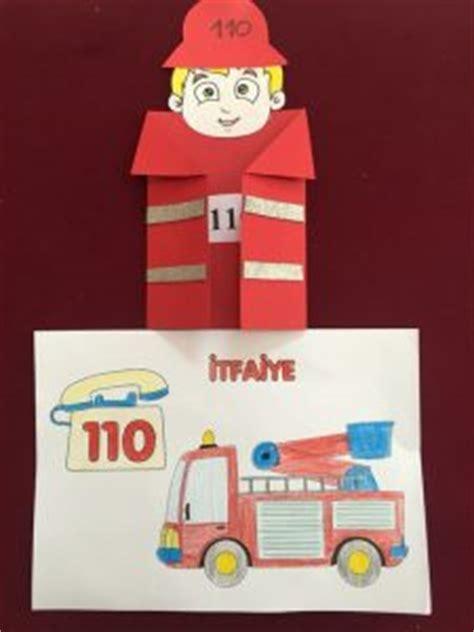 fireman craft idea  kids crafts  worksheets