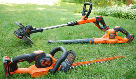 black decker lawn  garden tools  project closer