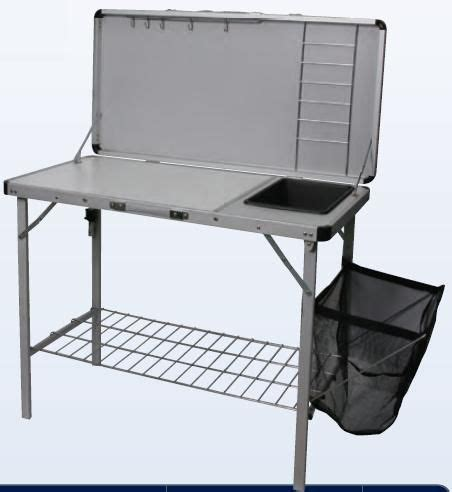 kitchen folding table c kitchen folding table foldable c cooking table tents cing kitchen