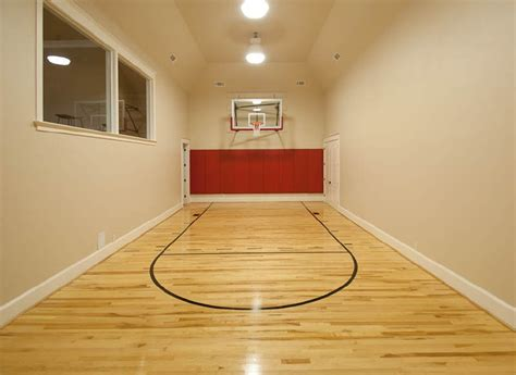can i build an indoor basketball court basket ball facility