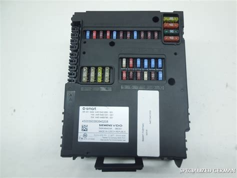 2009 smart fortwo fuse box wiring diagram with description