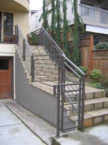Exterior Handrail Kits For Stairs by Stairs Amazing Exterior Stair Handrail Fascinating