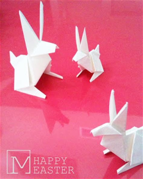 Origami Easter - architecture myd studio easter origami