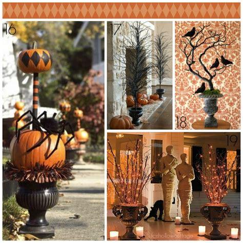decorating  urns  halloween edition fox hollow