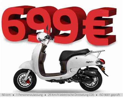 Roller Kaufen Neu 25 Ccm by Retro Roller Motorroller Moped Citycruiser Mofa Bestes