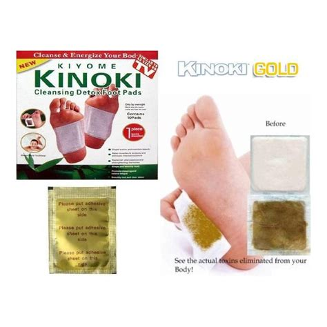 Nt Detox by 100 Kinoki Gold Detox Pleisters Ontgiften Kinoki