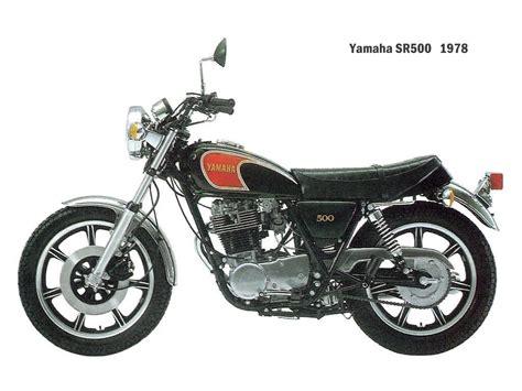 Motorrad Yamaha Sr 500 by Yamaha Sr 500 G Technische Daten Des Motorrades Motorrad