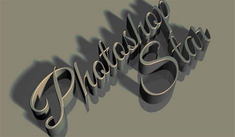 typography design tutorial photoshop cs6 vintage 3d text effect in photoshop cs6