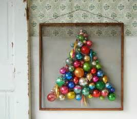 Of placing ornaments on a tree why not make a tree out of ornaments