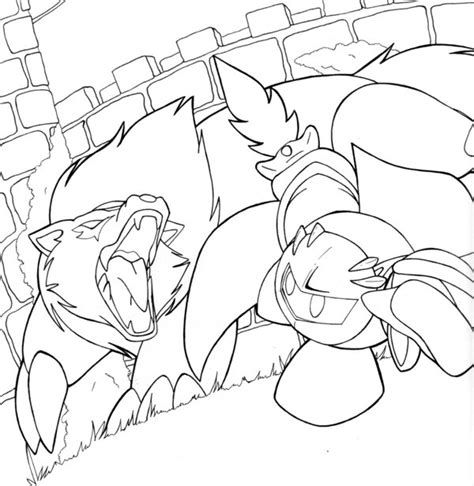 meta knight free colouring pages