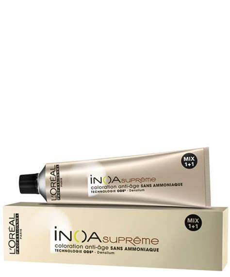 loreal permanent colour inoa ammonia free permanent colour pakcosmetics loreal permanent colour inoa supreme age defying ammonia free hair color pakcosmetics