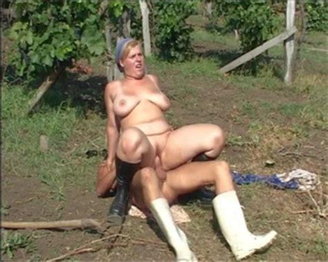 Granny sex farm