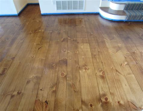 Sagaponack: Eastern White Pine with Early American stain