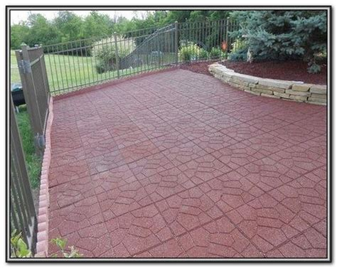 Rubber Patio Pavers Canada by Rubber Patio Pavers Canada Page Best Home