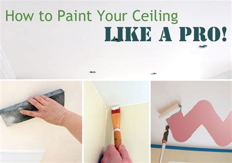 painting ceilings like a pro pretty handy